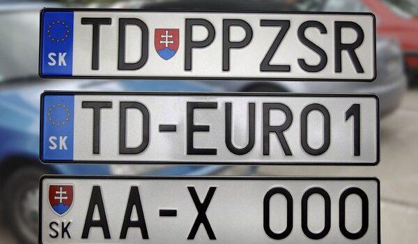 Auto-moto kvíz: ŠPZ na Slovensku